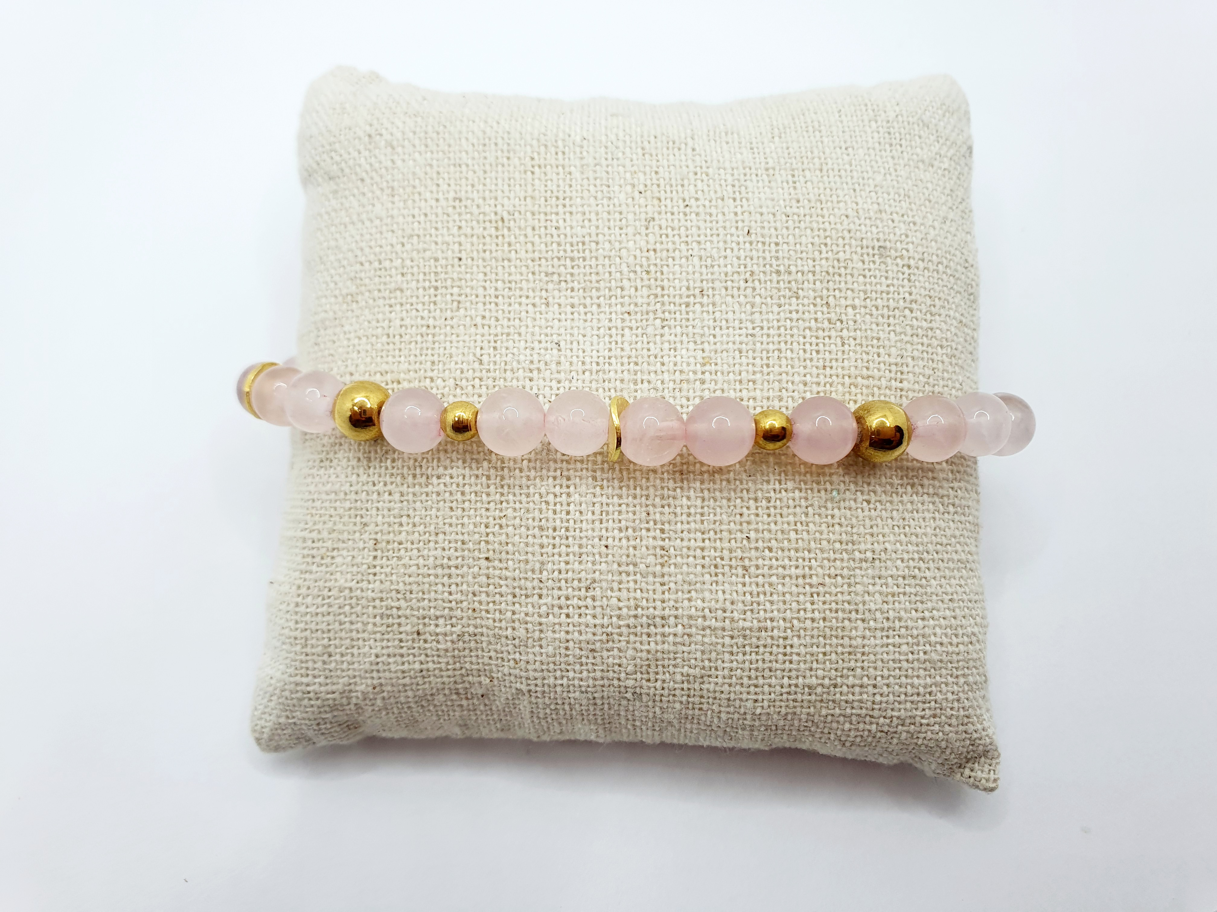 Armband Rosenquarz